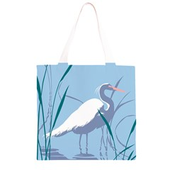 Egret Grocery Light Tote Bag