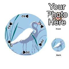 egret Playing Cards 54 (Round)