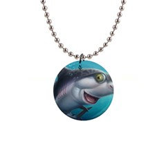 Sharky Button Necklaces