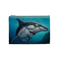 Sharky Cosmetic Bag (Medium)