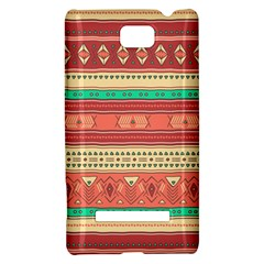 Hand Drawn Ethnic Shapes Pattern HTC 8S Hardshell Case