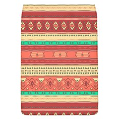 Hand Drawn Ethnic Shapes Pattern Flap Covers (L)