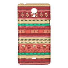 Hand Drawn Ethnic Shapes Pattern Sony Xperia T