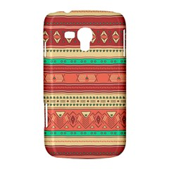 Hand Drawn Ethnic Shapes Pattern Samsung Galaxy Duos I8262 Hardshell Case
