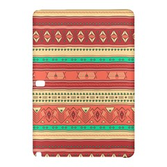 Hand Drawn Ethnic Shapes Pattern Samsung Galaxy Tab Pro 10.1 Hardshell Case