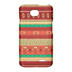 Hand Drawn Ethnic Shapes Pattern LG Optimus L70