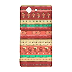 Hand Drawn Ethnic Shapes Pattern Sony Xperia Z3 Compact