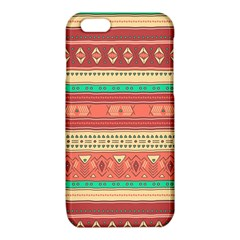 Hand Drawn Ethnic Shapes Pattern iPhone 6/6S TPU Case