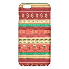 Hand Drawn Ethnic Shapes Pattern iPhone 6 Plus/6S Plus TPU Case