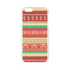 Hand Drawn Ethnic Shapes Pattern Apple Seamless iPhone 6/6S Case (Transparent)