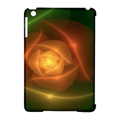 Orange Rose Apple Ipad Mini Hardshell Case (compatible With Smart Cover)