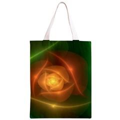 Orange Rose Classic Light Tote Bag