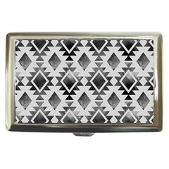 Hand Painted Black Ethnic Pattern Cigarette Money Cases