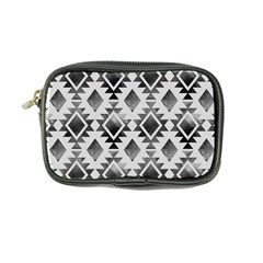 Hand Painted Black Ethnic Pattern Coin Purse