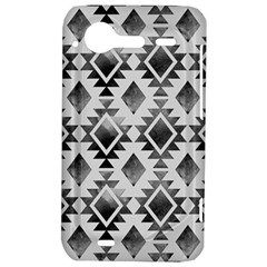 Hand Painted Black Ethnic Pattern HTC Incredible S Hardshell Case