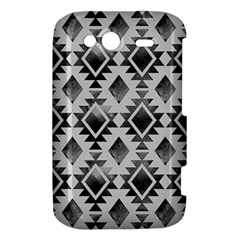 Hand Painted Black Ethnic Pattern HTC Wildfire S A510e Hardshell Case