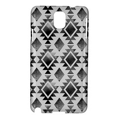 Hand Painted Black Ethnic Pattern Samsung Galaxy Note 3 N9005 Hardshell Case