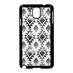 Hand Painted Black Ethnic Pattern Samsung Galaxy Note 3 Neo Hardshell Case (Black)