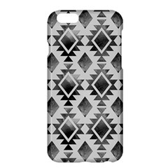 Hand Painted Black Ethnic Pattern Apple iPhone 6 Plus/6S Plus Hardshell Case