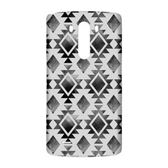 Hand Painted Black Ethnic Pattern LG G3 Back Case