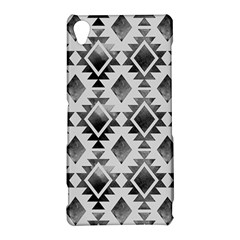 Hand Painted Black Ethnic Pattern Sony Xperia Z3