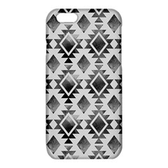 Hand Painted Black Ethnic Pattern iPhone 6/6S TPU Case
