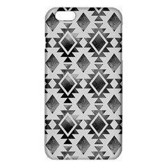 Hand Painted Black Ethnic Pattern iPhone 6 Plus/6S Plus TPU Case