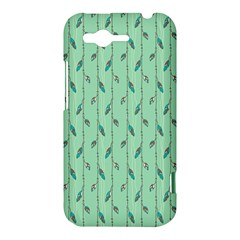 Seamless Lines And Feathers Pattern HTC Rhyme