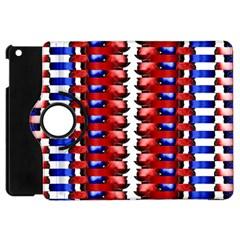 The Patriotic Flag Apple Ipad Mini Flip 360 Case