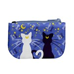 Moon Kitties Coin Change Purse Back