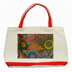 Rainbow Passion Classic Tote Bag (red)