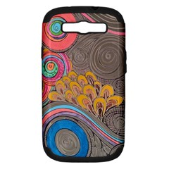 Rainbow Passion Samsung Galaxy S Iii Hardshell Case (pc+silicone)