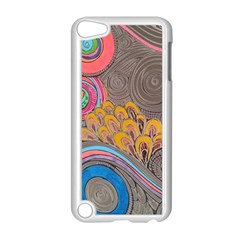 Rainbow Passion Apple Ipod Touch 5 Case (white)