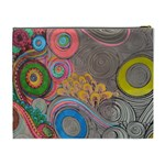 Rainbow Passion Cosmetic Bag (XL) Back