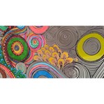 Rainbow Passion YOU ARE INVITED 3D Greeting Card (8x4)  Front