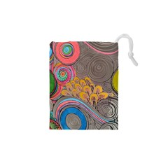 Rainbow Passion Drawstring Pouches (XS)