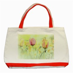 Softness Of Spring Classic Tote Bag (Red)