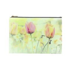 Softness Of Spring Cosmetic Bag (Large)