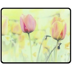 Softness Of Spring Fleece Blanket (Medium)