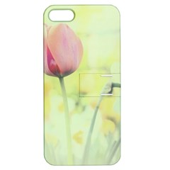 Softness Of Spring Apple iPhone 5 Hardshell Case with Stand