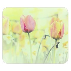 Softness Of Spring Double Sided Flano Blanket (Small)