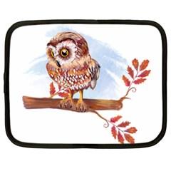 Owl Netbook Case (XL)