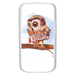 Owl Samsung Galaxy S III Case (White)