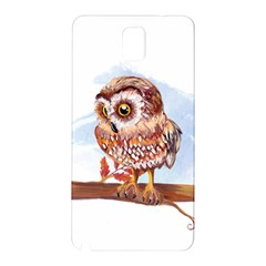 Owl Samsung Galaxy Note 3 N9005 Hardshell Back Case