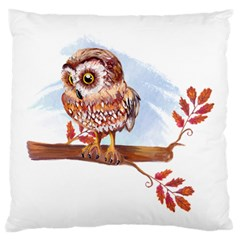 Owl Standard Flano Cushion Case (One Side)