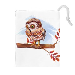 Owl Drawstring Pouches (Extra Large)