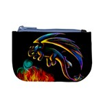 Dragon Fire Coin Change Purse Front