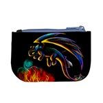 Dragon Fire Coin Change Purse Back
