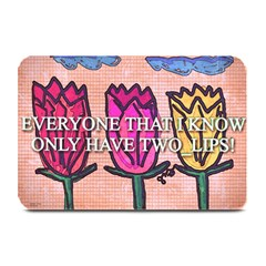 Two Lips   Tulips Plate Mats
