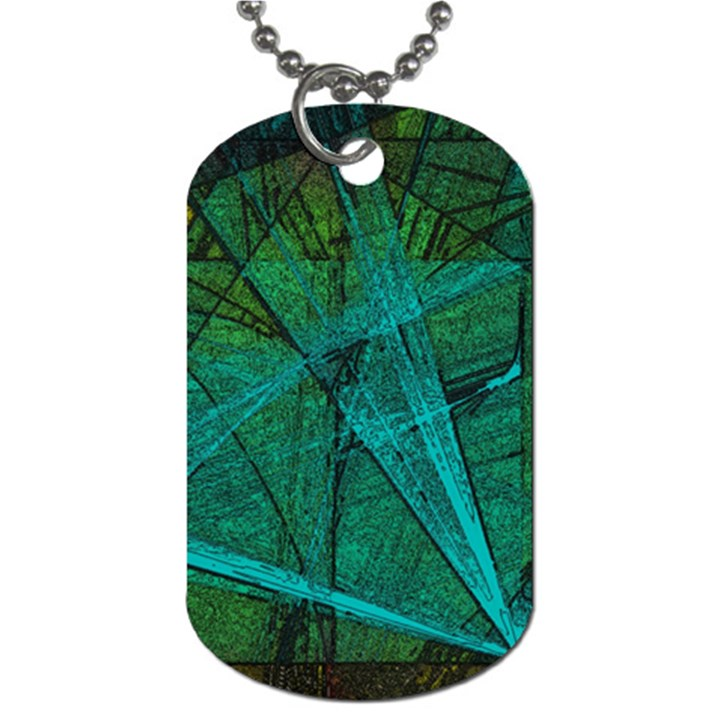 Weathered Dog Tag (One Side)